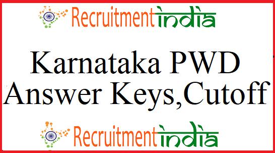 Karnataka PWD Answer Key