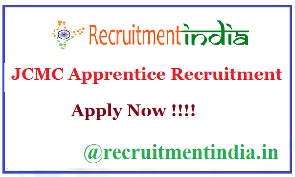 JCMC Apprentice Recruitment