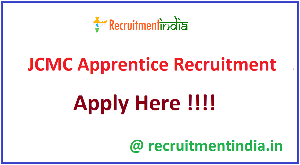 JCMC Apprentice Recruitment