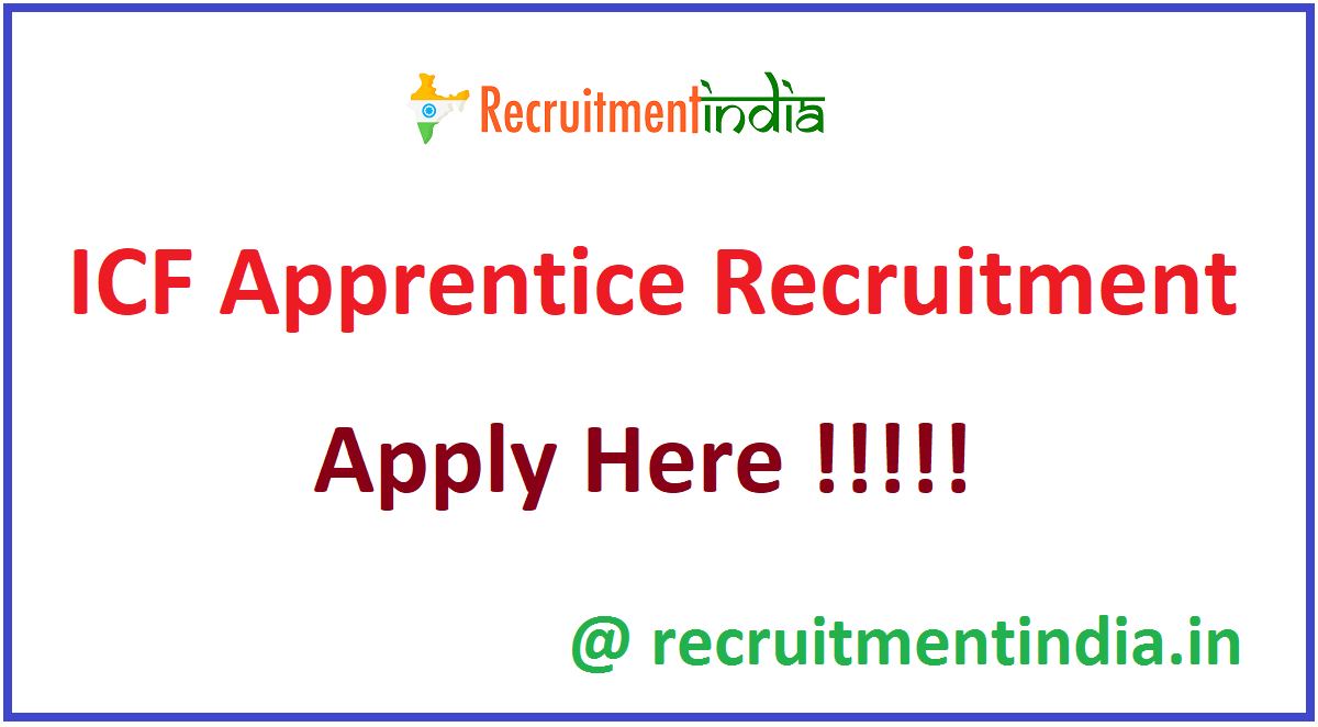 ICF Apprentice Recruitment