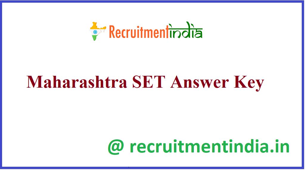 Maharashtra SET Answer Key