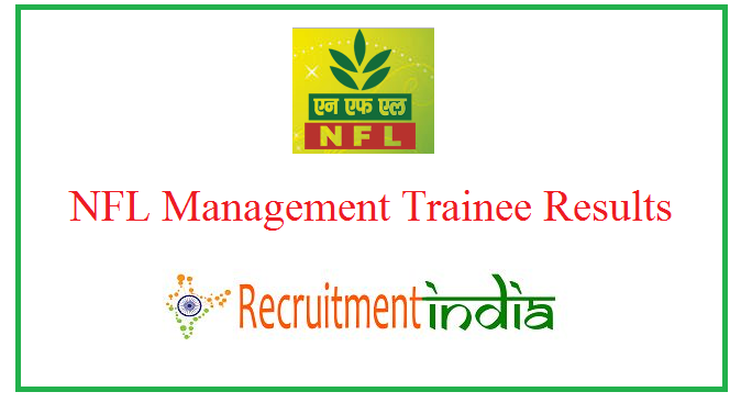 NFL Management Trainee Result