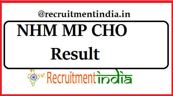 NHM MP CHO Result