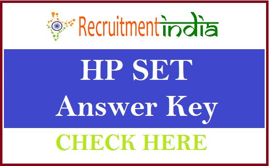 HP SET Answer Key