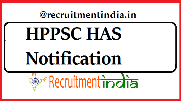 HPPSC HAS Notification