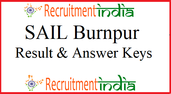 SAIL Burnpur Result