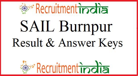 SAIL Burnpur Result