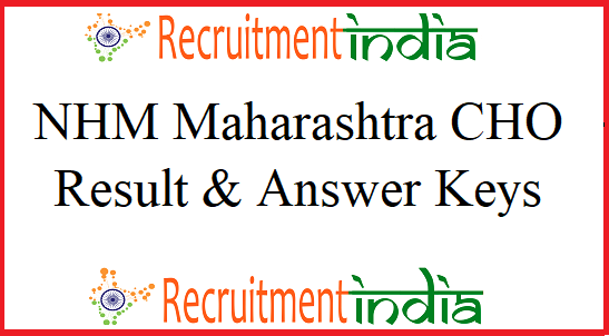 NHM Maharashtra CHO Result