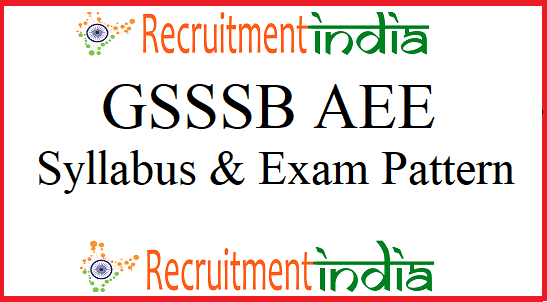 GSSSB Additional Assistant Engineer Syllabus