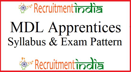 MDL Apprentices Syllabus