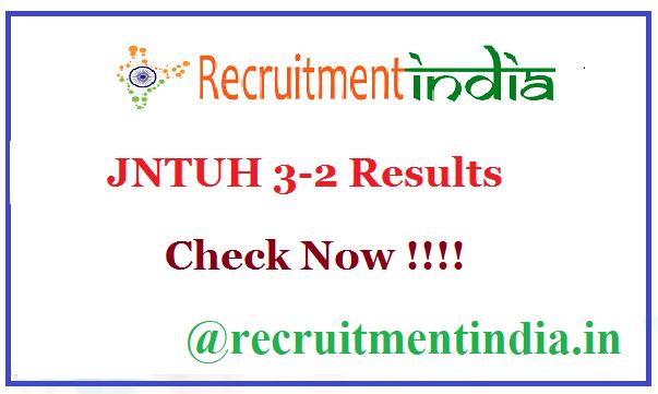 JNTUH 3-2 Results
