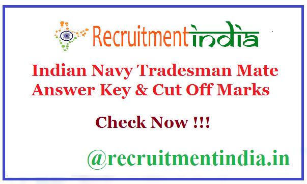 Indian Navy Tradesman Mate Answer Key