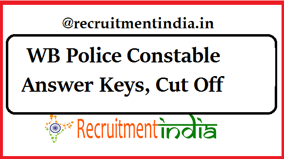 WB Police Constable Answer Keys