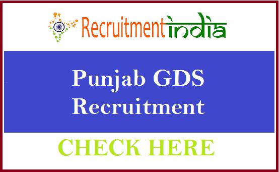 Punjab GDS Recruitment