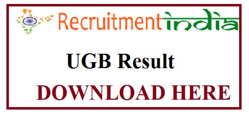 UGB Result
