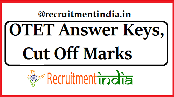 OTET Answer Keys