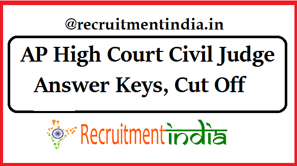 AP Junior Civil Judge Answer Keys