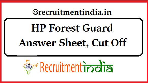HP Forest Guard Answer Keys