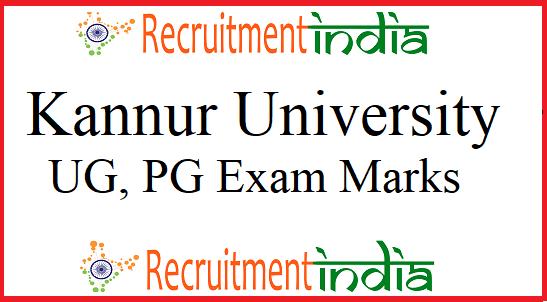 Kannur University Result 2019 (Released) UG, PG Regular/ Supply Marks