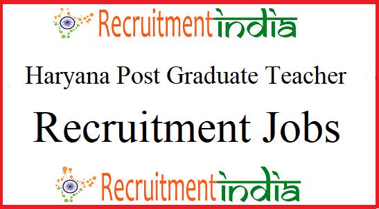 HSSC PGT Recruitment