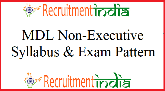 MDL Non-Executive Syllabus