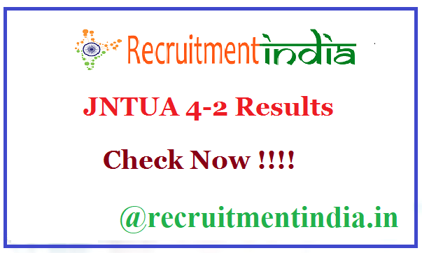 JNTUA 4-2 Results