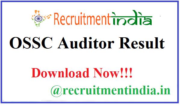 OSSC Auditor Result