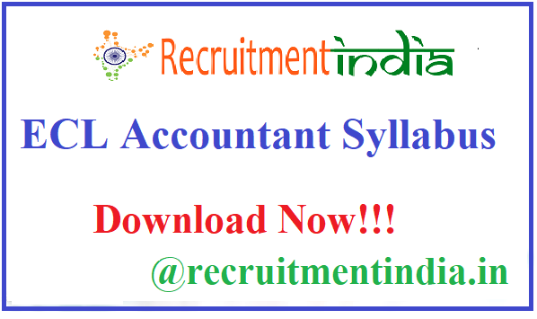 ECL Accountant Syllabus
