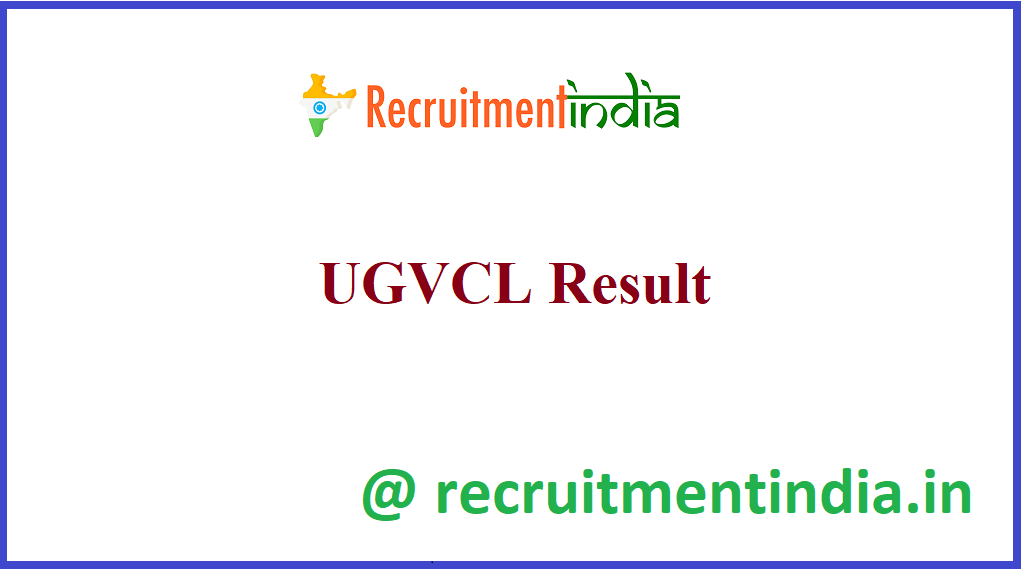 UGVCL Result