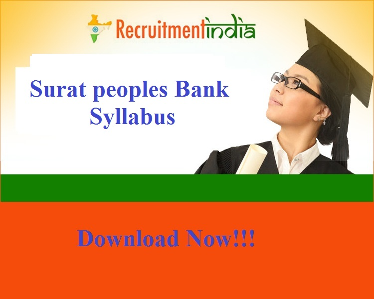 Surat peoples Bank Syllabus