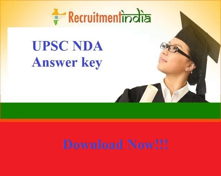 UPSC NDA Answer key