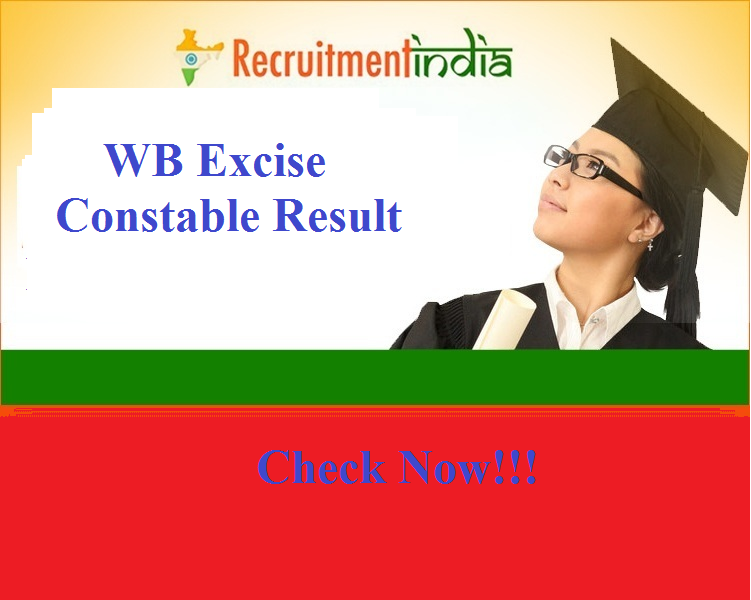 WB Excise Constable Result