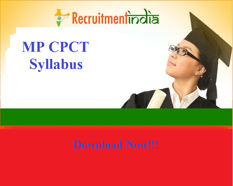 MP CPCT Syllabus