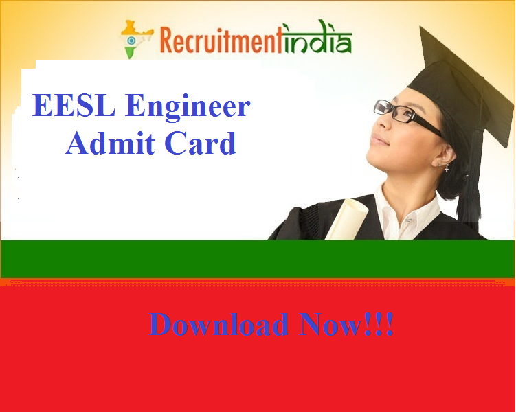 EESL Engineer Admit Card