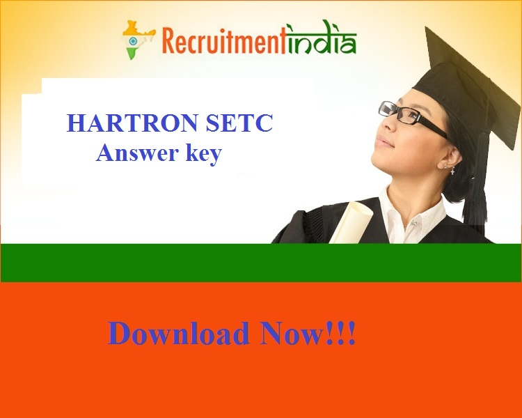 HARTRON SETC Answer Key