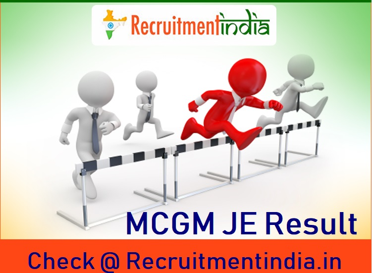 MCGM Junior Engineer Result
