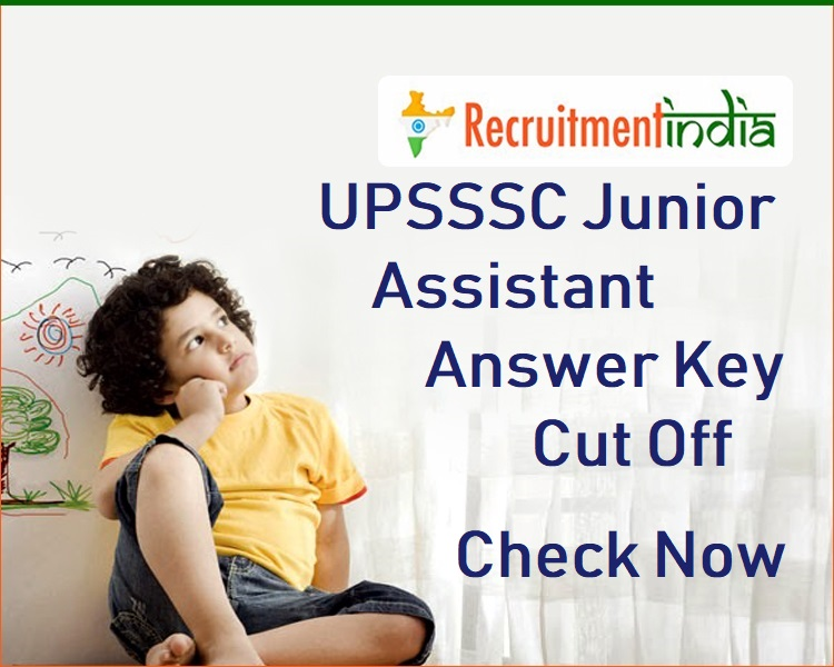 UPSSSC Junior Assistant Answer Key
