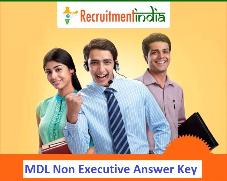 MDL Non Executive Answer Key
