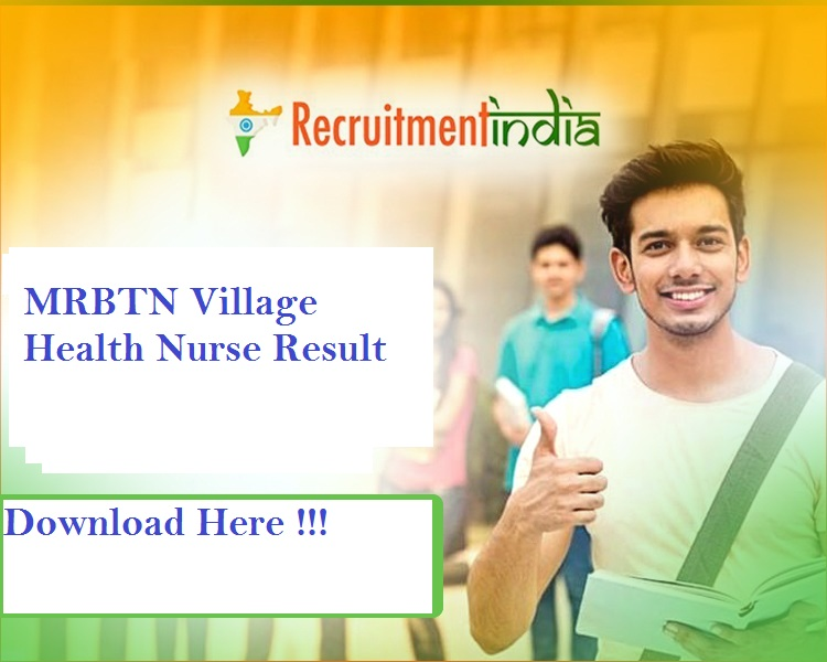 MRBTN Village Health Nurse Result 2019