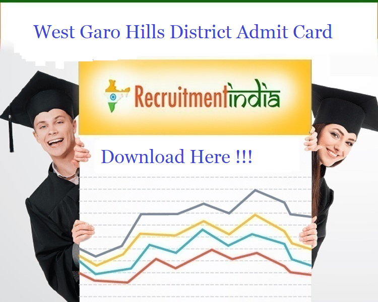 West Garo Hills District Admit Card 2020