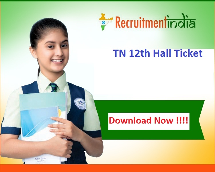 TN 12th Hall Ticket
