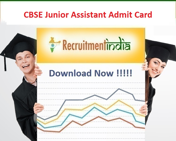CBSE Junior Assistant Admit Card
