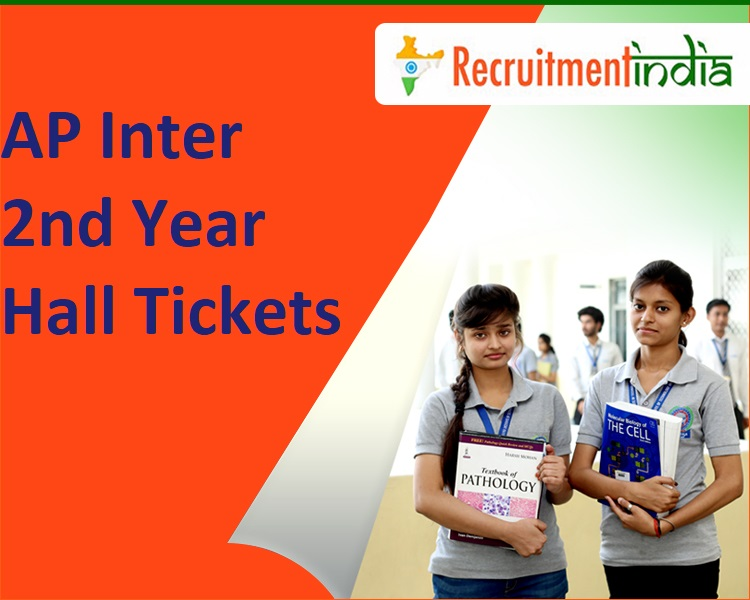 AP Inter 2nd Year Hall Tickets