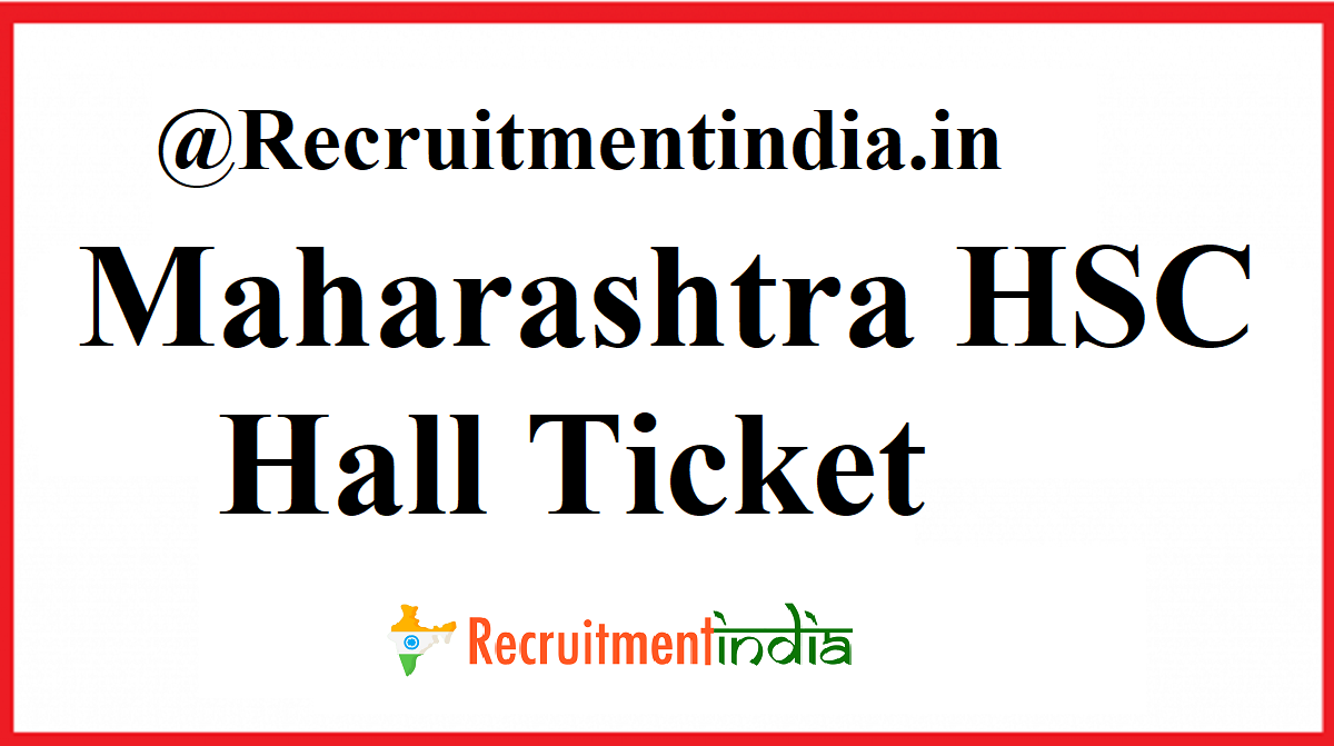 Maharashtra HSC Hall Ticket