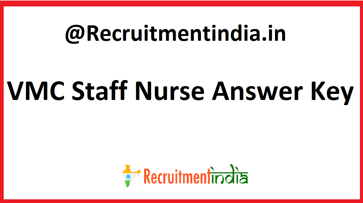 VMC Staff Nurse Answer Key
