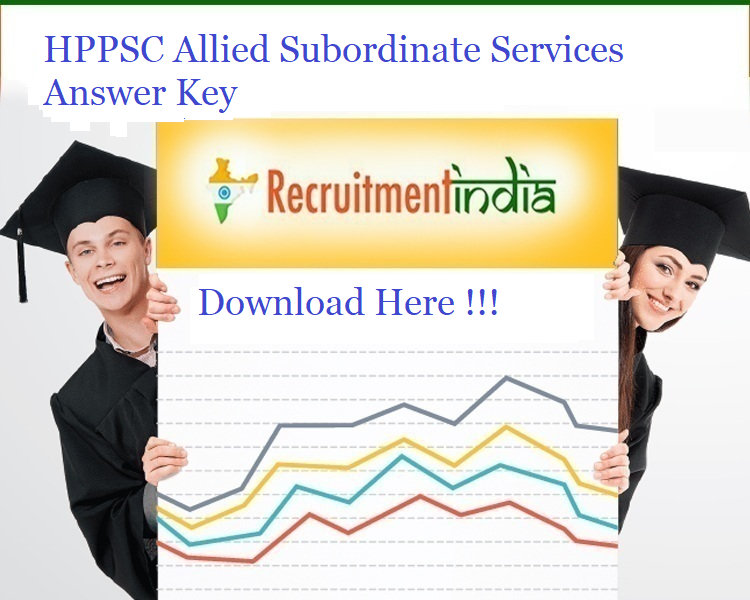 HPPSC Allied Subordinate Services Answer Key 2019