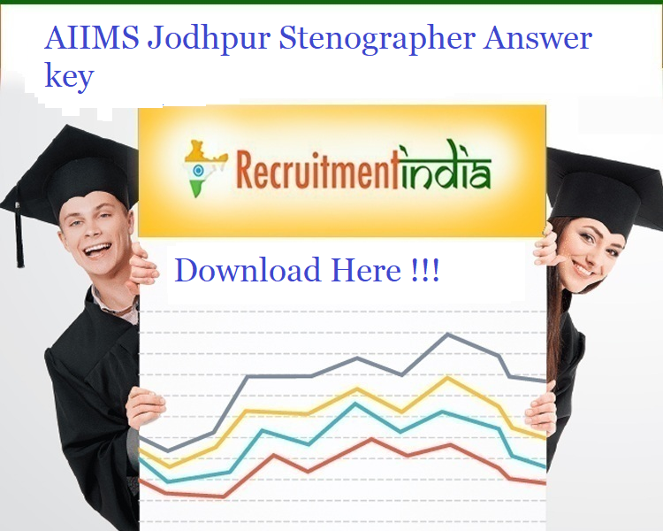 AIIMS Jodhpur Stenographer Answer key 2019