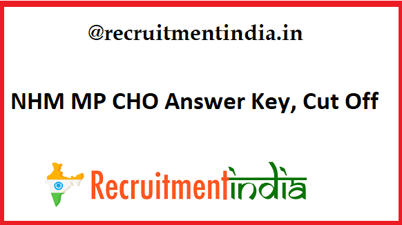 NHM MP CHO Answer Key