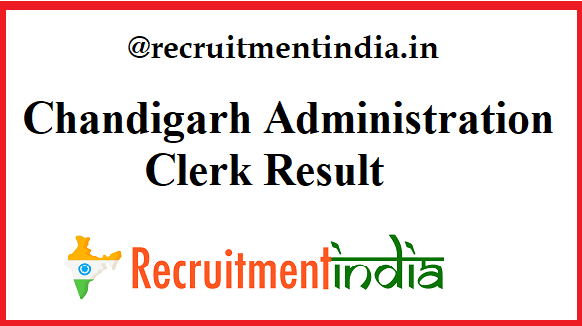 Chandigarh Administration Clerk Result