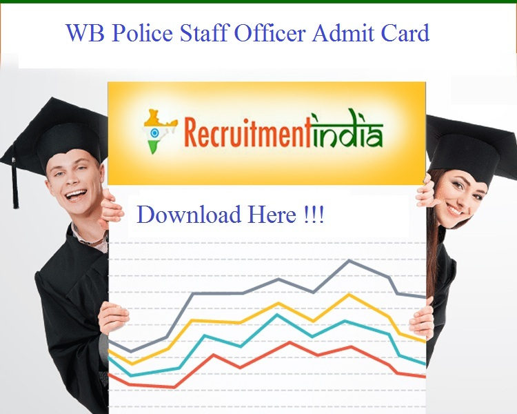 WB Police Staff Officer Admit Card